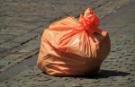 Svoz pytlů s plasty 1
